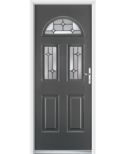 Ultimate Tennessee Rockdoor in Slate Grey with Linear Glaze