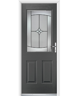 Ultimate Windsor Rockdoor in Slate Grey with Summit Glazing