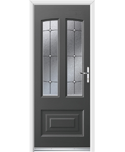 Ultimate Illinois Rockdoor in Slate Grey with Trinity
