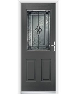 Ultimate Windsor Rockdoor in Slate Grey with Triton Glazing