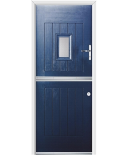 Ultimate Stable Spy Rockdoor in Sapphire Blue with Glazing