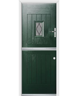 Ultimate Stable Spy Rockdoor in Emerald Green with Diamond Lead