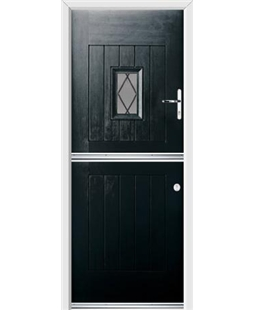 Ultimate Stable Spy Rockdoor in Onyx with Diamond Lead