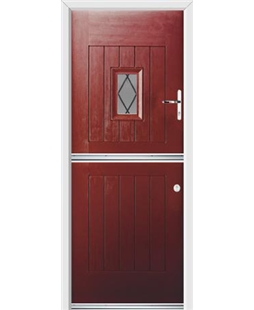 Ultimate Stable Spy Rockdoor in Ruby Red with Diamond Lead