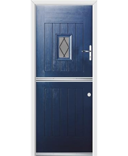 Ultimate Stable Spy Rockdoor in Sapphire Blue with Diamond Lead
