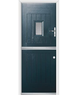 Ultimate Stable Spy Rockdoor in Anthracite Grey with Gluechip Glazing