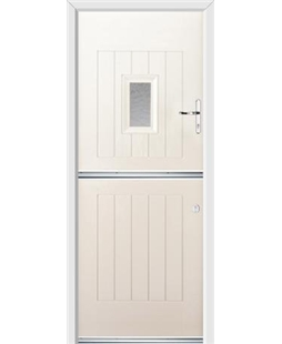 Ultimate Stable Spy Rockdoor in Cream with Gluechip Glazing