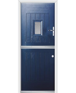 Ultimate Stable Spy Rockdoor in Sapphire Blue with Gluechip Glazing