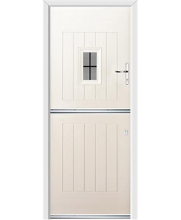Ultimate Stable Spy Rockdoor in Cream with Square Lead