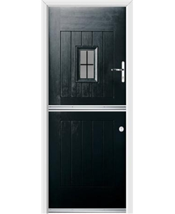 Ultimate Stable Spy Rockdoor in Onyx with Square Lead