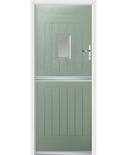Ultimate Stable Spy Rockdoor in Chartwell Green with Gluechip Glazing
