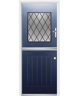 Ultimate Stable View Rockdoor in Sapphire Blue with Diamond Lead