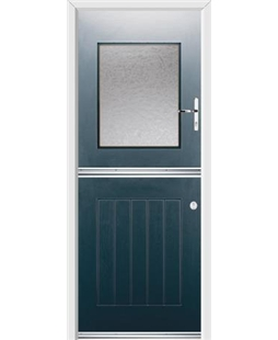Ultimate Stable View Rockdoor in Anthracite Grey with Gluechip Glazing