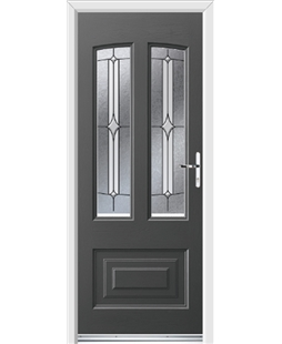 Ultimate Illinois Rockdoor in Slate Grey with Pinnacle