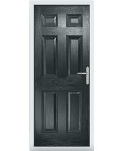 The Hull Composite Door in Grey (Anthracite)