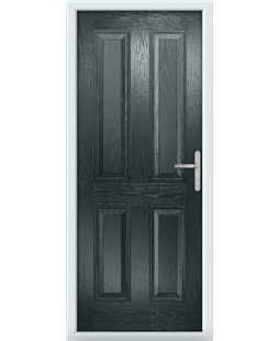The Manchester Composite Door in Grey (Anthracite)