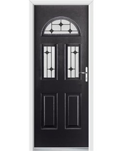 Ultimate Tennessee Rockdoor in Onyx Black with Black Diamonds