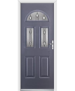 Ultimate Tennessee Rockdoor in Anthracite Grey with Dorado Glazing