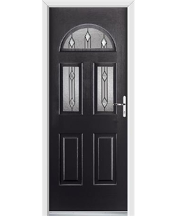 Ultimate Tennessee Rockdoor in Onyx Black with Dorado Glazing