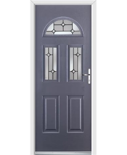 Ultimate Tennessee Rockdoor in Anthracite Grey with Linear Glaze