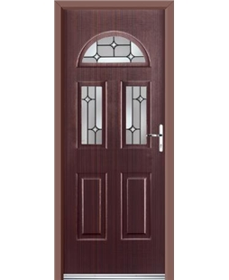 Ultimate Tennessee Rockdoor in Mahogany with Linear Glaze