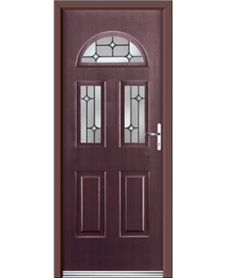 Ultimate Tennessee Rockdoor in Rosewood with Linear Glaze