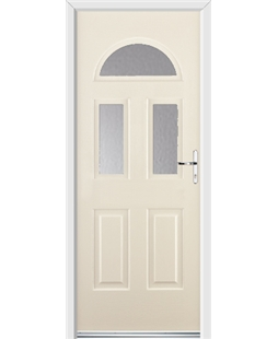 Ultimate Tennessee Rockdoor in Cream with Glazing