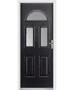 Ultimate Tennessee Rockdoor in Onyx Black with Glazing
