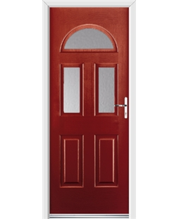 Ultimate Tennessee Rockdoor in Ruby Red with Glazing