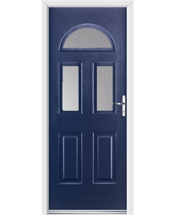 Ultimate Tennessee Rockdoor in Sapphire Blue with Glazing