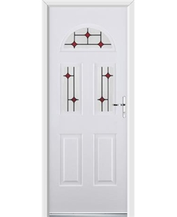 Ultimate Tennessee Rockdoor in Blue White with Red Diamonds