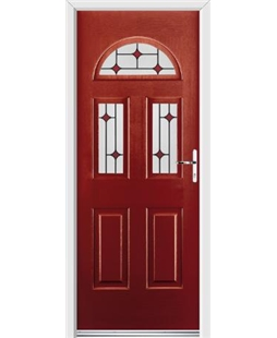 Ultimate Tennessee Rockdoor in Ruby Red with Red Diamonds