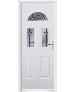 Ultimate Tennessee Rockdoor in Blue White with Crystal Bevel