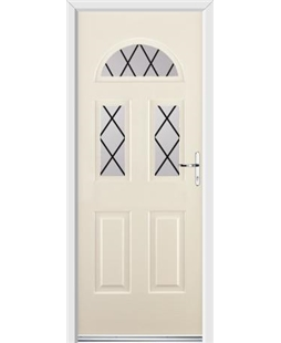 Ultimate Tennessee Rockdoor in Cream with Diamond Lead
