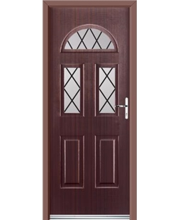 Ultimate Tennessee Rockdoor in Mahogany with Diamond Lead