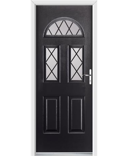 Ultimate Tennessee Rockdoor in Onyx Black with Diamond Lead