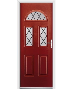 Ultimate Tennessee Rockdoor in Ruby Red with Diamond Lead