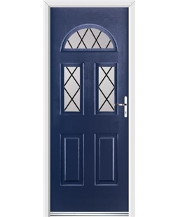 Ultimate Tennessee Rockdoor in Sapphire Blue with Diamond Lead