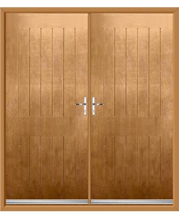 Tongue & Groove French Rockdoor in Irish Oak