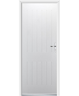 Ultimate Tongue & Groove 5 Rockdoor in White