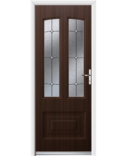 Ultimate Illinois Rockdoor in Mahogany with Trinity