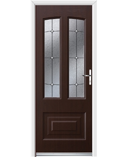 Ultimate Illinois Rockdoor in Rosewood with Trinity