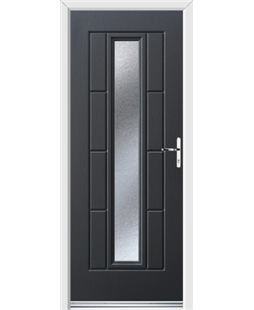 Ultimate Vermont Rockdoor in Anthracite Grey with Gluechip Glazing