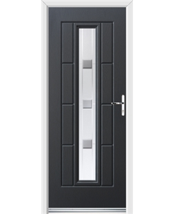 Ultimate Vermont Rockdoor in Anthracite Grey with Grey Shades