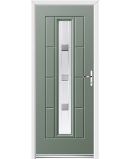 Ultimate Vermont Rockdoor in Chartwell Green with Grey Shades