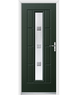Ultimate Vermont Rockdoor in Emerald Green with Grey Shades