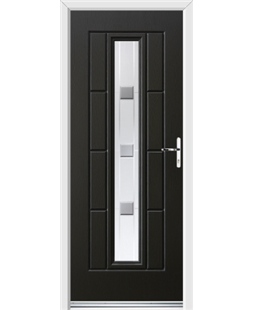 Ultimate Vermont Rockdoor in Onyx Black with Grey Shades