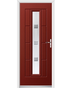 Ultimate Vermont Rockdoor in Ruby Red with Grey Shades