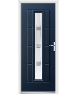Ultimate Vermont Rockdoor in Sapphire Blue with Grey Shades