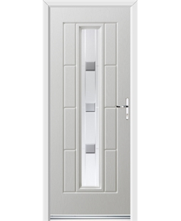 Ultimate Vermont Rockdoor in White with Grey Shades